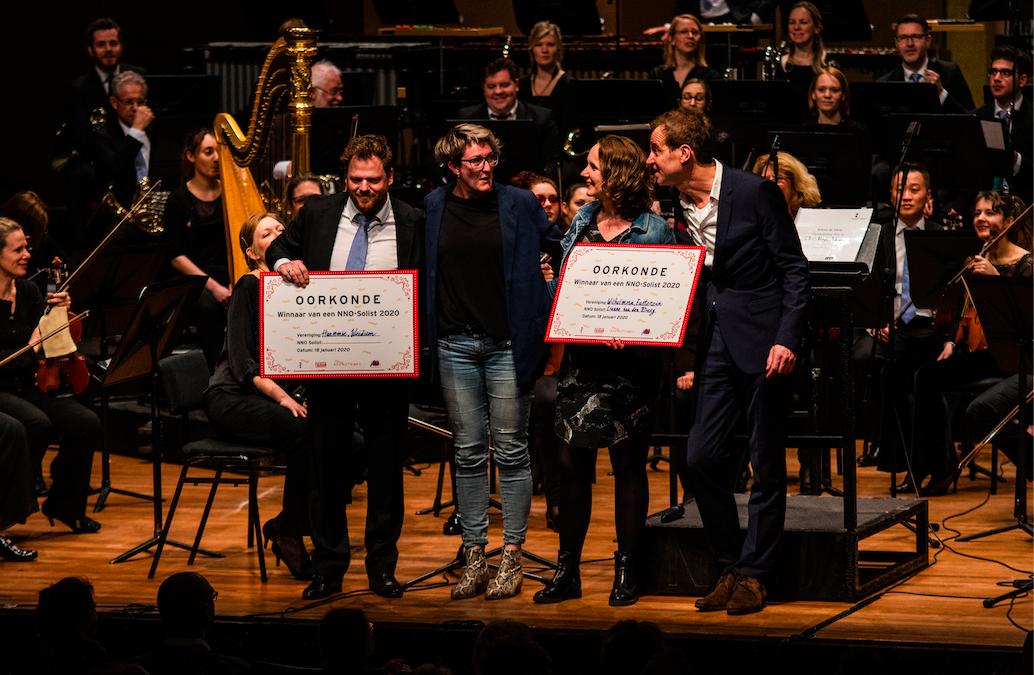 NNO-solist gewonnen door Harmonie Weidum en Wilhelmina Easterein